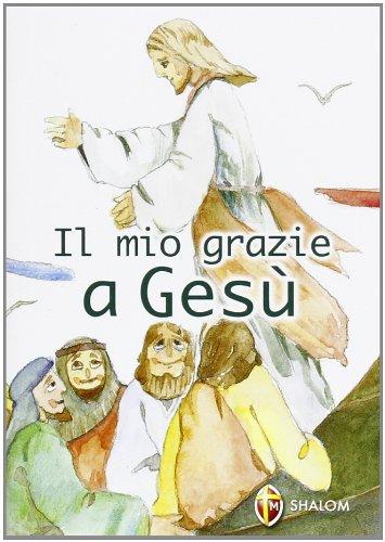 Copertina Il mio grazie a Gesù